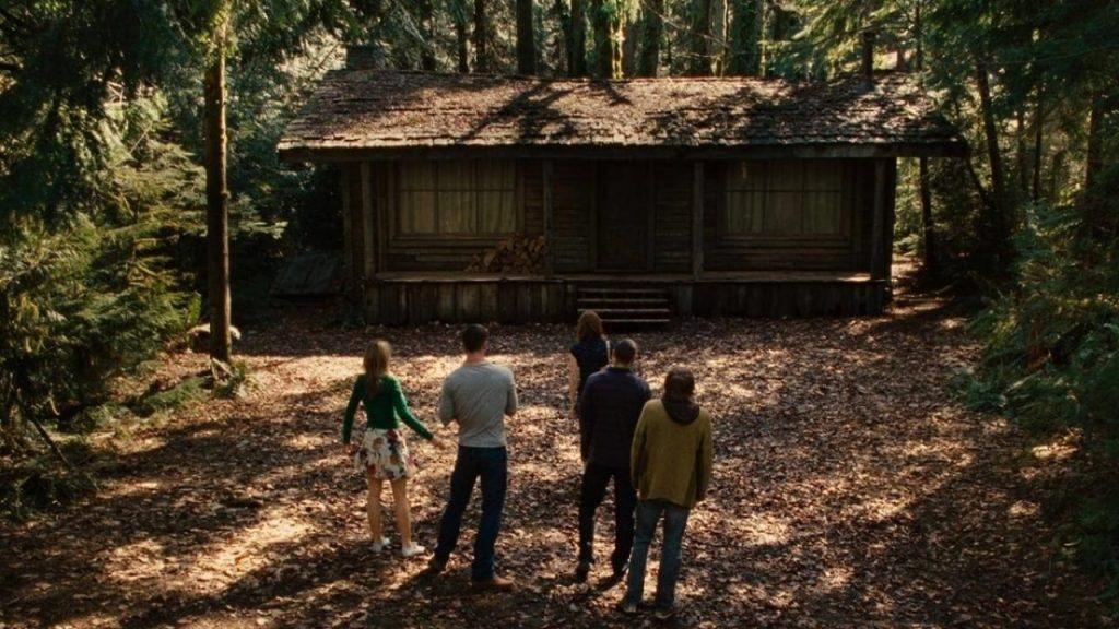 Scena del film Quella casa nel bosco
