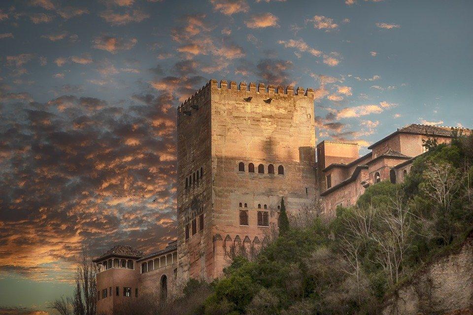 Tramonto andaluso - Alhambra a Granada