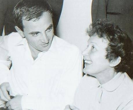 Édith Piaf e Charles Aznavour