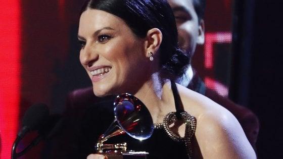 laura pausini grammy awards