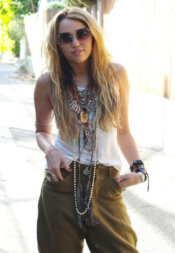 Miley Cyrus Boho