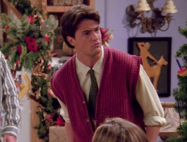 Chandler Bing 90s Gilet