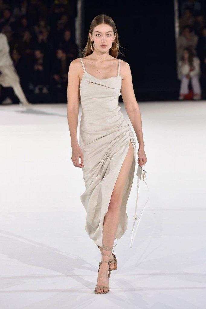 Gigi Hadid slip dress